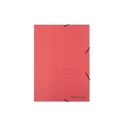 Eckspanner A4 für 250Blatt rot RC-Karton Produktbild