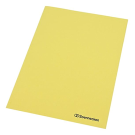 Aktendeckel A4 250g gelb RC-Karton (PACK=100 STÜCK) Produktbild