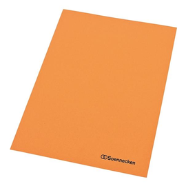 Aktendeckel A4 250g orange RC-Karton (PACK=100 STÜCK) Produktbild