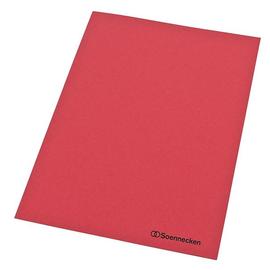 Aktendeckel A4 250g rot RC-Karton (PACK=100 STÜCK) Produktbild