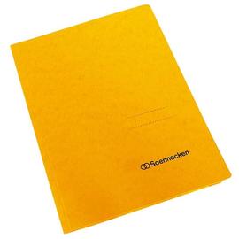 Sammelmappe mit 3 Klappen A4 bis 250Blatt gelb Karton Produktbild