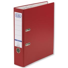 Ordner smart Pro A4 80mm rot PP/Papier Elba 100202156 Produktbild
