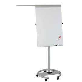 Flipchart-Tafel ECO Mobil Touch 104x68cm Rundfuß mit Rollen grau Franken FC617 magnetisch beschichtet Produktbild