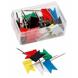 Markierfähnchen 25mm farbig sortiert 1098 (PACK=25 STÜCK) Produktbild