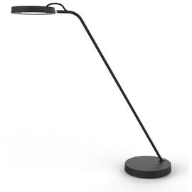 Schreibtischleuchte LED EYELIGHT mit Standfuß schwarz Unilux 400093835 Produktbild