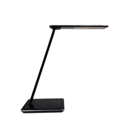 Schreibtischleuchte LED LINKA mit Standfuß weiß Unilux 400124484 Ladefunktion über USB dimmbar Produktbild