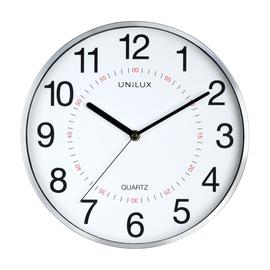 Wanduhr ARIA Quarzuhr Ø 28,5cm Gehäuse grau Kunststoff Unilux ohne Batterie 400094280 Produktbild