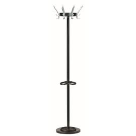 Garderobenständer CYPRES mit 8 Haken Höhe 170cm schwarz Unilux 100340639 Produktbild