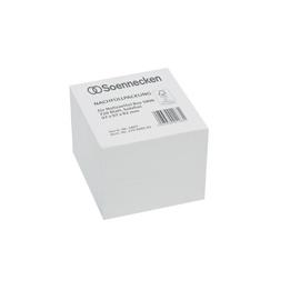 Zetteleinlagen ungeleimt 9,7x9,7x8,2cm 720Blatt weiß Papier Soennecken 5807 Produktbild