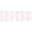 Jahresplan 2022 für Organizer Midi 96x172mm Chronoplan 50502 Produktbild Additional View 2 S