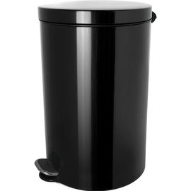 Tretabfallbehälter Silberionen the knight 3L Stahl schwarz Helit H2404095 Produktbild