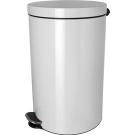 Tretabfallbehälter Silberionen the knight 5L Stahl weiß Helit H2404105 Produktbild