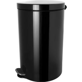 Tretabfallbehälter Silberionen the knight 5L Stahl schwarz Helit H2404195 Produktbild