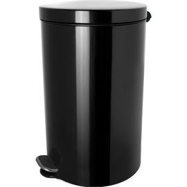 Tretabfallbehälter Silberionen the knight 20L Stahl schwarz Helit H2404295 Produktbild