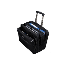 Businesstrolley Xtray 38x42,5x19cm schwarz Polyester Lightpak 46099 Produktbild