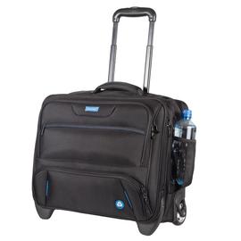 Businesstrolley RPET 38x45x23cm schwarz 1680 D Nylon Lightpak 46215 Produktbild