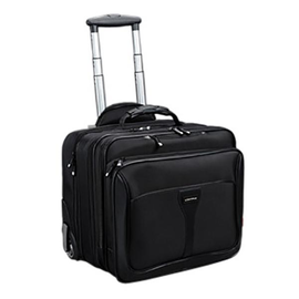 Businesstrolley BRAVO 2 42x40x31cm schwarz Nylon Lightpak 46102 Produktbild