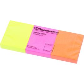 Haftnotizen 40x50mm neonfarben Papier BestStandard (PACK=3x 100 BLATT) Produktbild
