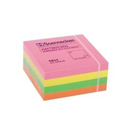 Haftnotizen Würfel 75x75mm neonfarben Papier BestStandard (ST=400 BLATT) Produktbild