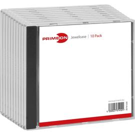 CD-Box Slimline schwarz Primeon 2761401 (PACK=10 STÜCK) Produktbild