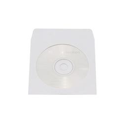 CD/DVD Leerhülle weiß Papier Soennecken 3750 (PACK=100 STÜCK) Produktbild