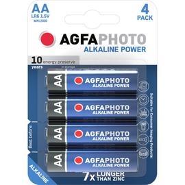 Batterien Platinum Mignon AA 1,5V AgfaPhoto LR06 (PACK=4 STÜCK) Produktbild