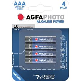 Batterien Platinum Micro AAA 1,5V AgfaPhoto LR03 (PACK=4 STÜCK) Produktbild