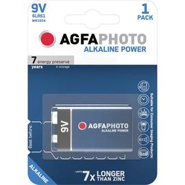 Batterien Platinum E-Block 9V AgfaPhoto 6LR61 Produktbild
