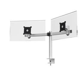 Monitorarm für 2 Monitore mit Tischklemme silber Durable 5085-23 Produktbild