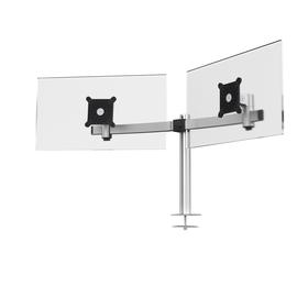 Monitorarm für 2 Monitore mit Tischhalterung silber Durable 5086-23 Produktbild