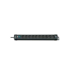 Steckdosenleiste Premium Line 10-fach schwarz mit Schalter Brennenstuhl 795003200 Produktbild