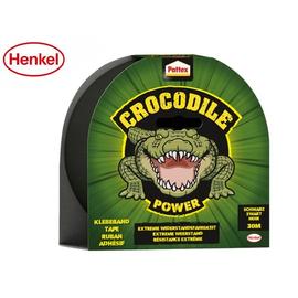 Gewebeband Power Tape Crocodile 48mm x 30m schwarz Pattex 9HPCPT5 (RLL=25 METER) Produktbild