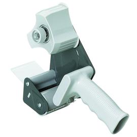 Handabroller für Packbänder füllbar bis 50mm x 66m grau Alco 4480 Produktbild