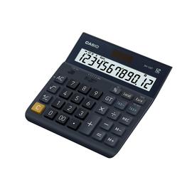 Tischrechner 12-stelliges LC-Display Solar-/Batteriebetrieb Casio DH-12ET 151x159x29mm Produktbild