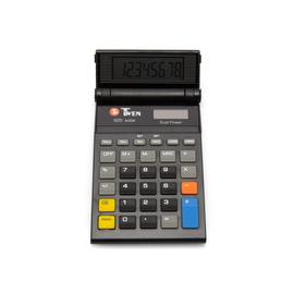 Taschenrechner 8-stelliges LC-Display Solar-/Batteriebetrieb Twen 820 85x130x15mm Produktbild