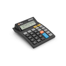 Tischrechner 10-stelliges LC-Display Solar-/Batteriebetrieb Twen J-1010 112x144x40mm Produktbild