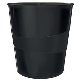 Papierkorb Recycle 15l schwarz schwarz Leitz 5328-00-95 Produktbild