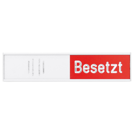 Franken Türschild besetzt BS0117 102x27,4mm al selbstkl. Produktbild