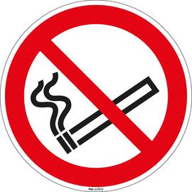 Hinweisschild Rauchen verboten Durchmesser 20cm sk Folie Produktbild