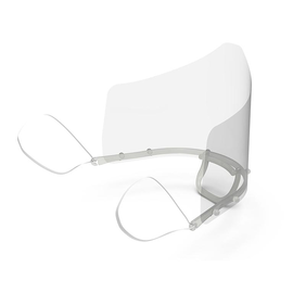Gesichtsschutzschild für Mund / Nase mit einem Schutzschild Renz 4798000101 Produktbild