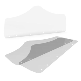 Ersatzschild + Gummibänder für Gesichts- schutzschild Mund / Nase Renz 4798000111 (PACK=10 STÜCK) Produktbild