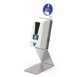 Desinfektionsmittelspender auf Edelstahl-Tischständer Renz 4798000224 Produktbild