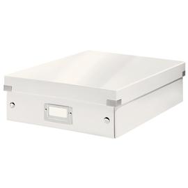 Organisationsbox WOW Click & Store 370x281x100mm mittel weiß Leitz 6058-00-01 Produktbild