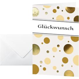 Motiv-Karten inkl. Umschläge 115x170mm 220g Glückwunsch Sigel DS106 (PACK= JE 10 STÜCK) Produktbild