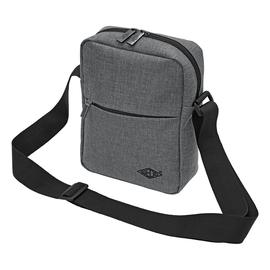 Umhängetasche Messenger Bag College 40x10x30cm grau Wedo 59350512 Produktbild