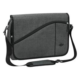 """Laptoptasche Messenger Bag College Querformat bis 15,6"""" grau Wedo 59353012 Produktbild"""