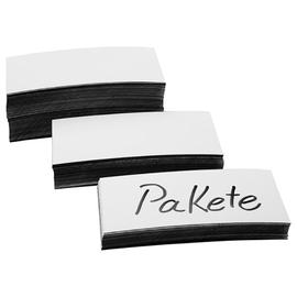 Magnetetiketten 100x30x0,6mm weiß Magnetoplan 1531106 (PACK=100 STÜCK) Produktbild