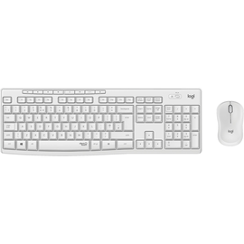 Tastatur + Mouse Set Wireless MK295 weiss Logitech 920-009819 Produktbild