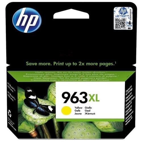 Tintenpatrone 963XL für HP OfficeJet Pro 9010/9020 23,92ml yellow HP 3JA29AE Produktbild Front View L