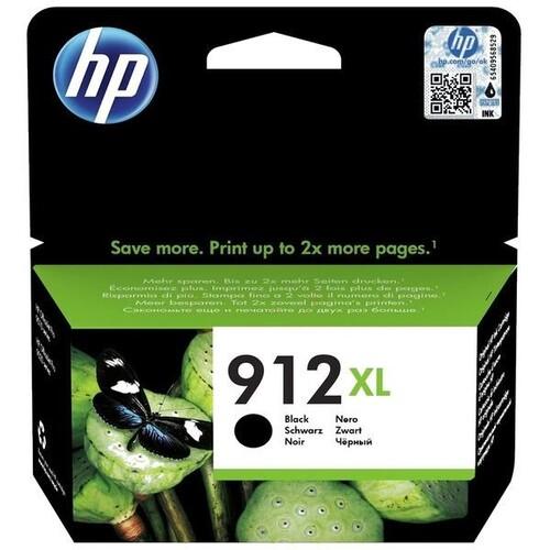 Tintenpatrone 912XL für HP OfficeJet Pro 8010/8020 21,7ml schwarz HP 3YL84AE Produktbild Front View L